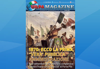 Magazine settembre 2020 | 1870: ecco la prima, 'vera' Pubblica Amministrazione